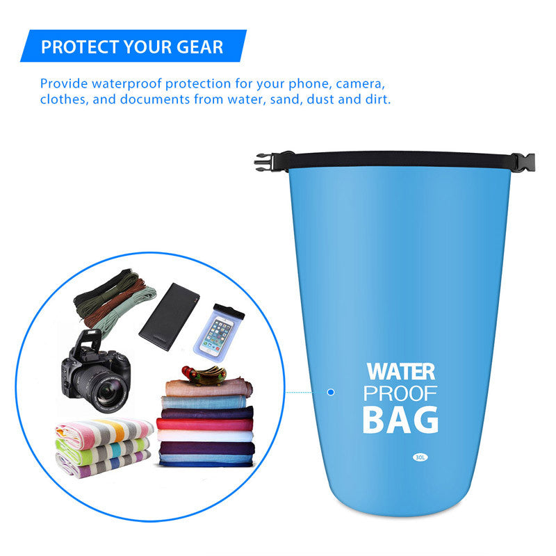 30L Outdoor Waterproof Dry Storage Bag
