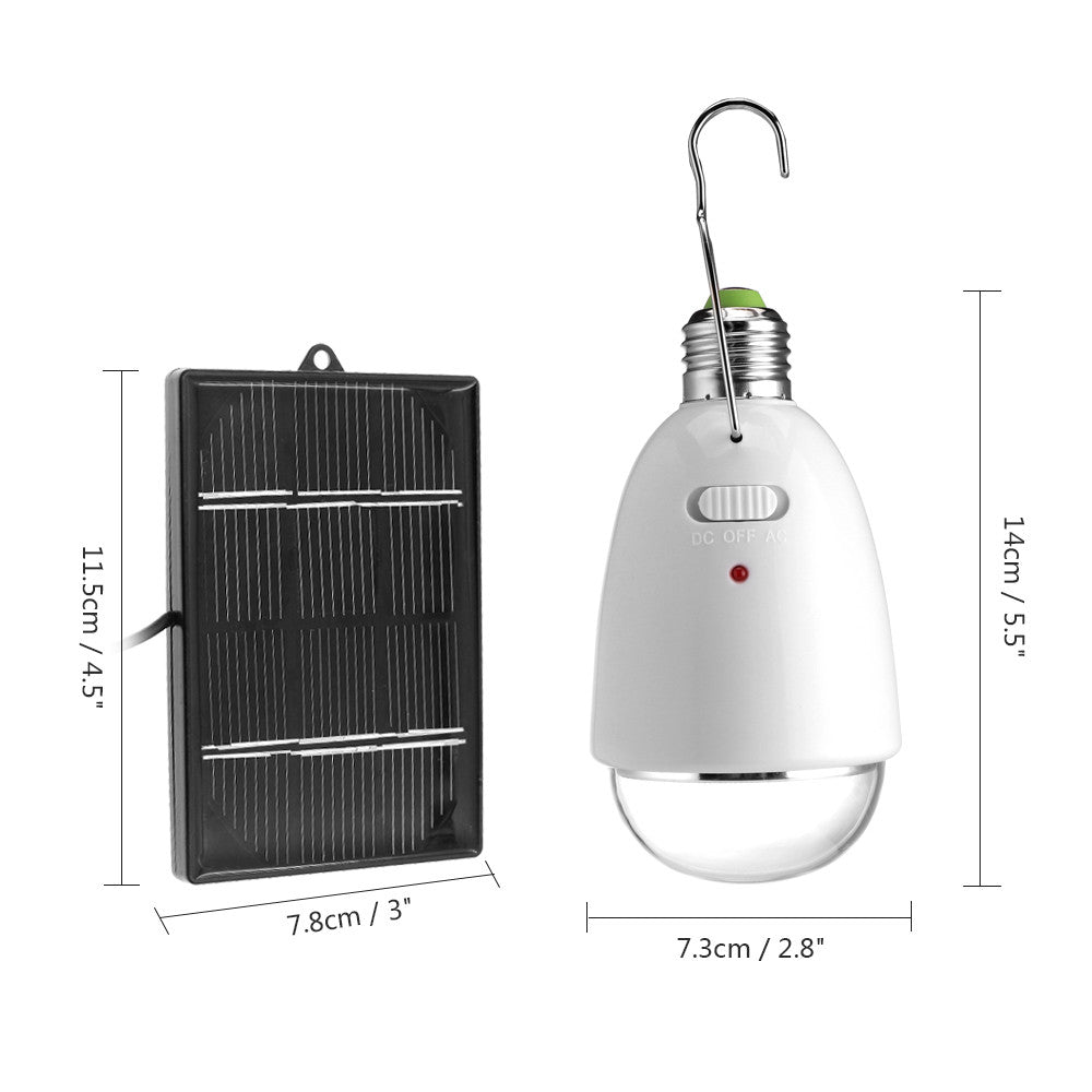 Hanging Led Solar Lamp Rechargeable and/or Solar LED Outdoor light. - Venture Life