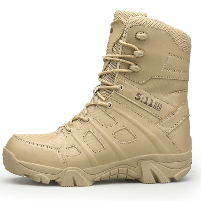 Men's Waterproof Breathable Tactical Boots