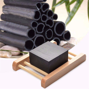 Bamboo Charcoal Acne Fighting Handmade Soap