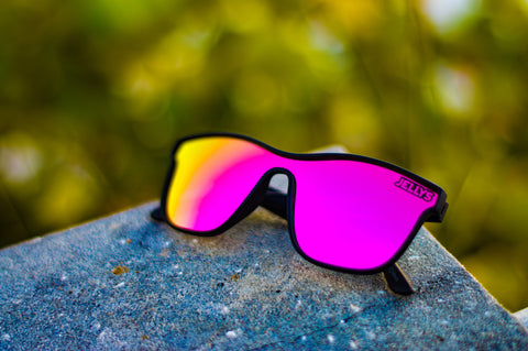 Captiva Polarized Black/Pink