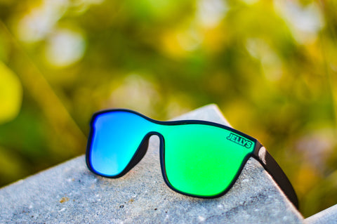Captiva Polarized Black/Green