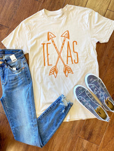 Texas crossed arrows T-shirt