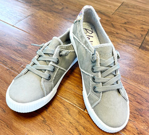 Smoked gray blowfish sneakers