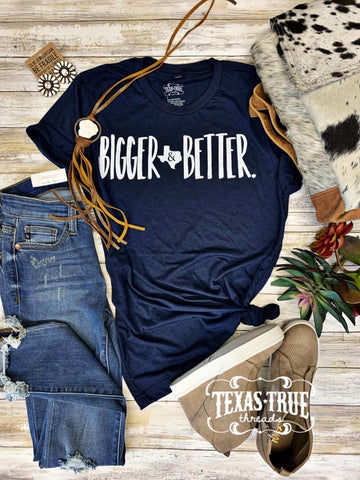 Bigger and better Texas T-shirt