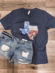 Paisley Texas T-shirt
