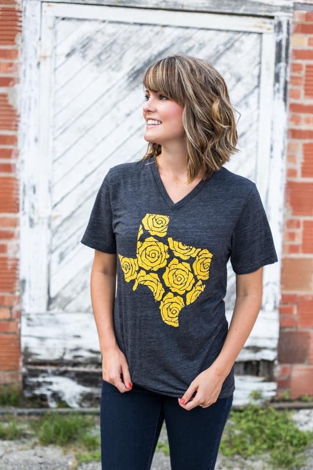 Yellow rose Texas T-shirt