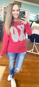 Xo dotted T-shirt