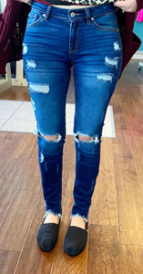 Lina distressed Kancan jeans