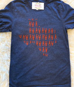 Texas crawfish T-shirt