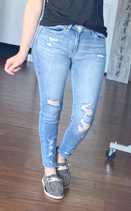 Grace distressed jeans
