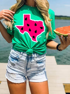 Watermelon Texas T-shirt