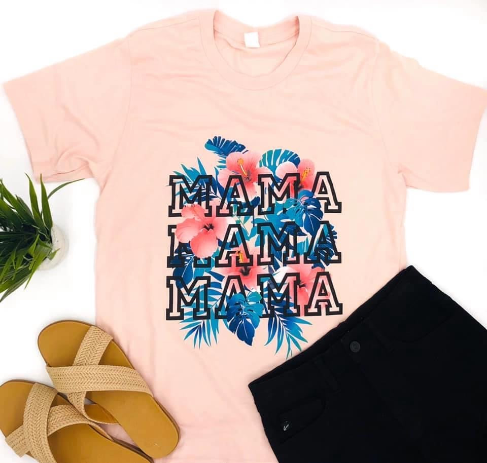 Tropical mama T-shirt