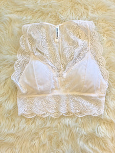 White Lace Bralette