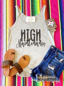 High maintenance tank top