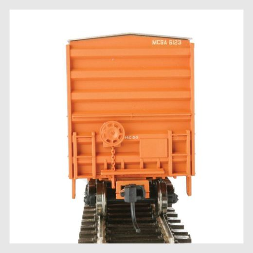 605161422871 - Walthers Mainline Ho 910-2148 50' Acf Exterior Post Boxcar - Moscow Camden & San Augustine #6123 - Rj's Trains