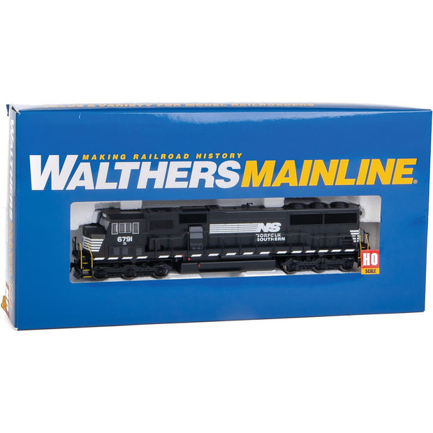 Walthers Mainline, HO Scale, 910-9720 EMD SD60M, Norfolk Southern, #6971, (DCC-Ready)