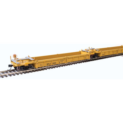 Walthers, HO Scale, 910-55638, Thrall 5-Unit Rebuilt 40' Well Cars A-E, Santa Fe Leasing (SFLC), #1048