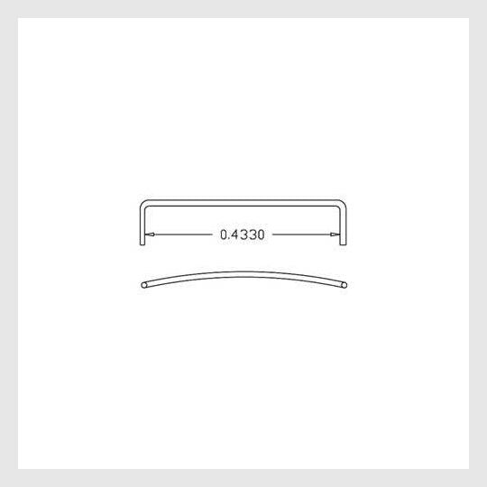 4252076605498 - Cal Scale: 190-505, F, E & Ft Unit Side Door Grabs .012 Wire Pack Of 12 - Rj's Trains