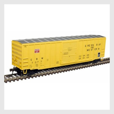 "3944312832023 - Atlas Trainman Ho 20005134 Acf 50' 6"" Box Car, Green Bay And Western #7038 - Rj's Trains"
