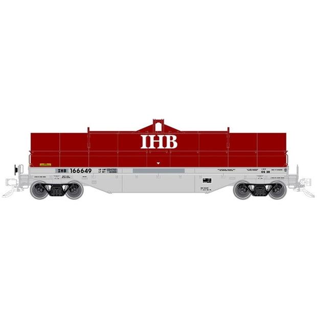 Atlas, HO Scale, 20005601, 42' Coil Steel Car, Indiana Harbor Belt Road, #166601