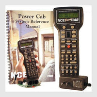 NCE 524025 Power Cab Complete DCC Starter Set with Power Supply
