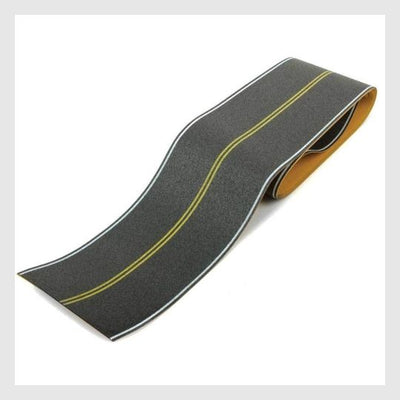 4097151467543 - Walthers Scenemaster Ho 949-1252 Flexible Self-Adhesive Paved Roadway, Vintage And Modern No Passing Zone (Double Yellow Center Line) - Rj's Trains