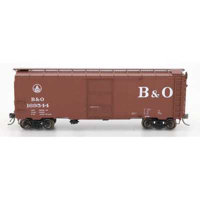 "InterMountain, 45795-01, HO Scale, 1937 AAR 40' 10'-0"" Boxcar, Baltimore & Ohio, #169512"