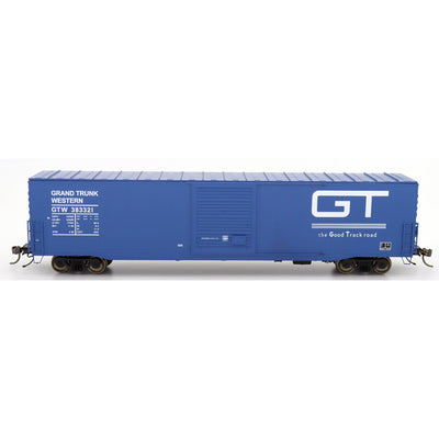 Intermountain HO 46906-04, PS-1 SD Boxcar, Grand Trunk Western - Blue 383378