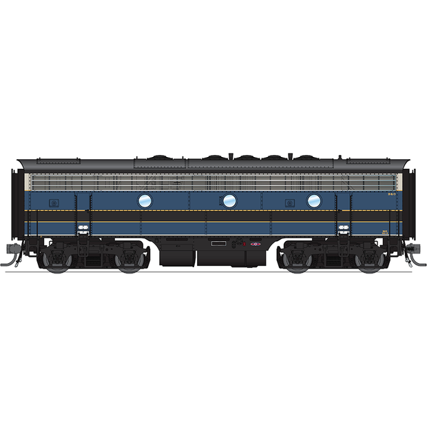 Broadway Limited Imports HO 4843 F7 A/B Diesels, B&O,  #180/180X (Equipped with Paragon3 Sound/DC/DCC)