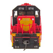 InterMountain HO 49359S-03, SD40-2 Locomotive With Sound, Nationales De Mexico #8743