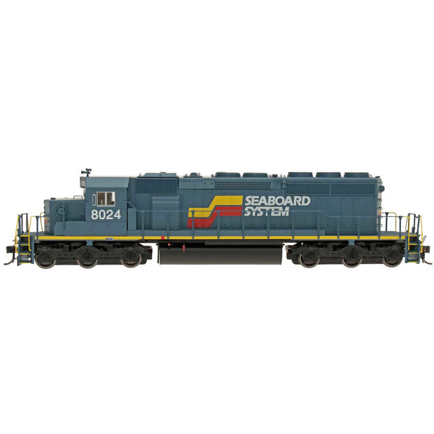 InterMountain, HO Scale, 49362S-04, SD40-2 Locomotive With Sound, Seaboard System, #8038