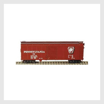 3505216061463 - Bowser Ho 60140 X-31A Insert Roof Boxcar, Prr Shadow Keystone #70136 - Rj's Trains