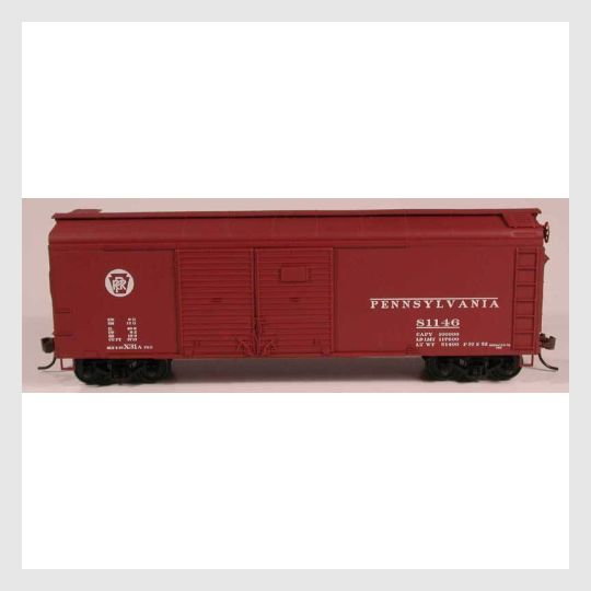 3505219403799 - Bowser Ho 60144 X-31A 4 Door Insert Roof Boxcar, Prr Circle Keystone #81103 (Kit) - Rj's Trains