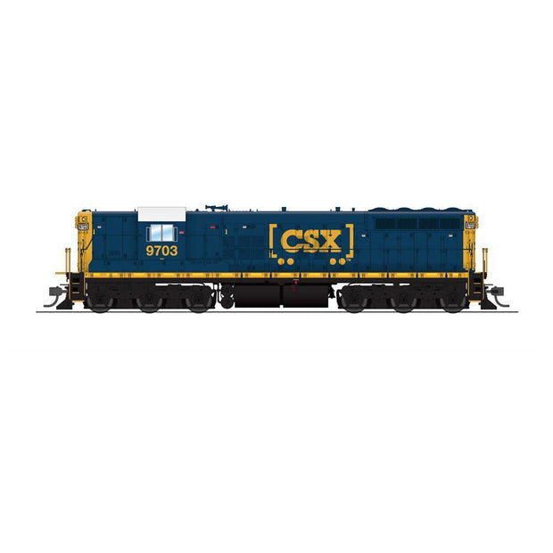 Broadway Limited Imports, 4783, HO Scale, EMD SD7, CSX, #8703, Fantasy Scheme, (Equipped with Paragon3 Sound/DC/DCC)