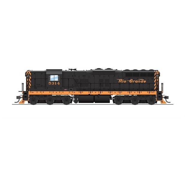 Broadway Limited Imports, 5805, HO Scale, EMD SD9, DRGW, #5314, (Equipped with Paragon3 Sound/DC/DCC)