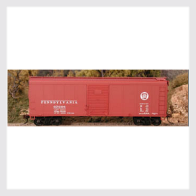 3506444009495 - Bowser Ho 60136 X-31A Insert Roof Boxcar, Prr Circle Keystone #67558 - Rj's Trains