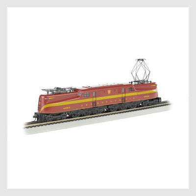 3965126541335 - Bachmann Ho 65206 Gg1 Electric, Pennsylvania Railroad (Tuscan Red, 5-Stripe) #4890 - Rj's Trains