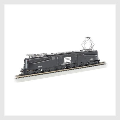 4163836280855 - Bachmann Ho 65305 Gg1 Electric, Penn-Central, #4853 -Dcc 7 Sound - Rj's Trains