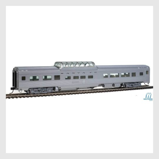 3964014264343 - Walthers Mainline 910-30402, 85' Budd Dome Coach - Santa Fe - Rj's Trains