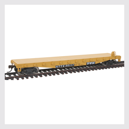 Walthers Trainline HO 931-1463 Flat Car, Trailer Train #X90117