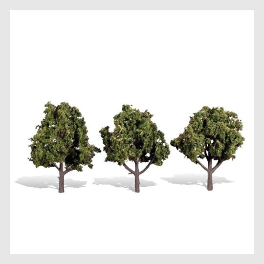 "1477802885143 - Woodland Scenics Tr3510 Sun Kissed Trees, 4"" To 5"" (3) ""Woodland Classics Brand"" - Rj's Trains"