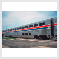 Kato HO 356052 Superliner Passenger Coach, Amtrak (Phase III) (6 Selectable Car Numbers)