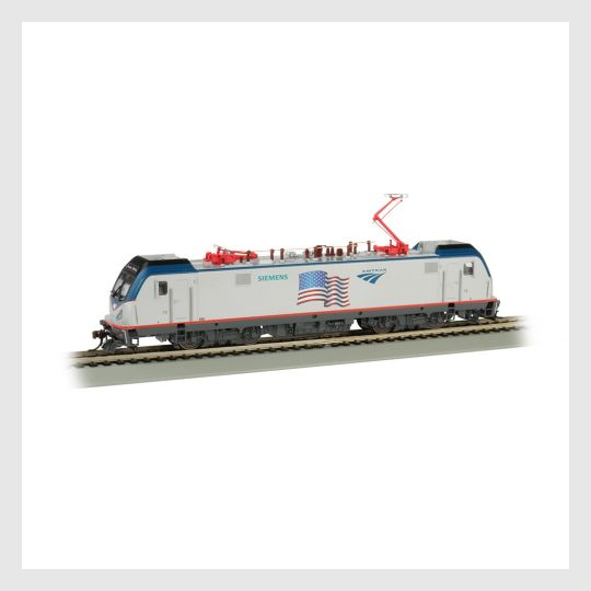 Bachmann HO 67404 Siemens ACS-64, Amtrak Demonstrator (American Flag) #600 (DCC and Sound Equipped)