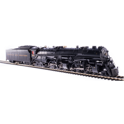 Broadway Limited, HO Scale, 5990, Class A, 2-6-6-4 Steam Locomotive, Norfolk and Western (In Service Version), #1218