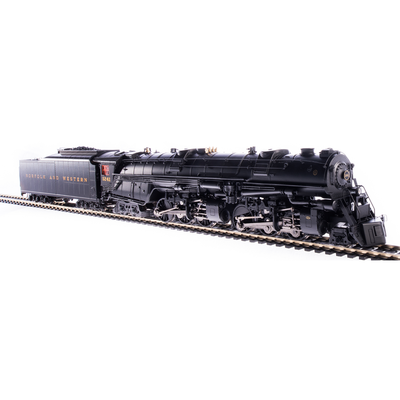 Broadway Limited, HO Scale, 5996, Class A, 2-6-6-4 Steam Locomotive, Norfolk and Western, #1241