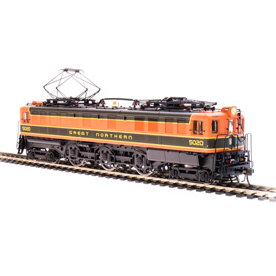 Broadway Limited Imports HO 5941 P5A Electric Boxcab, Great Northern, #5020 (Fantasy Paint Scheme)