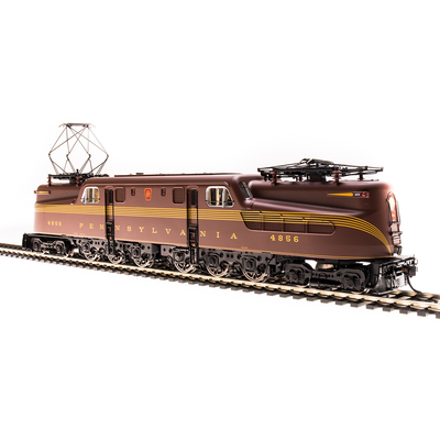 Broadway Limited Imports, HO Scale, 4962, GG1, PRR,Tuscan Red, 5-Stripe, Buff Lettering & Stripes, Roman Lettering, #4739, (Paragon3 Sound/DC/DCC Equipped)