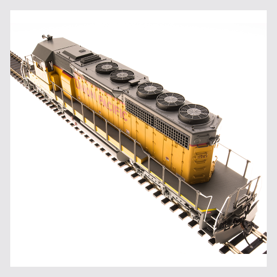 4316064055354 - Broadway Limited 5373 Emd Sd40-2, Up #1947, Yellow & Gray W/ Lightning Stripe, Paragon3 Sound/Dc/Dcc, Ho - Rj's Trains