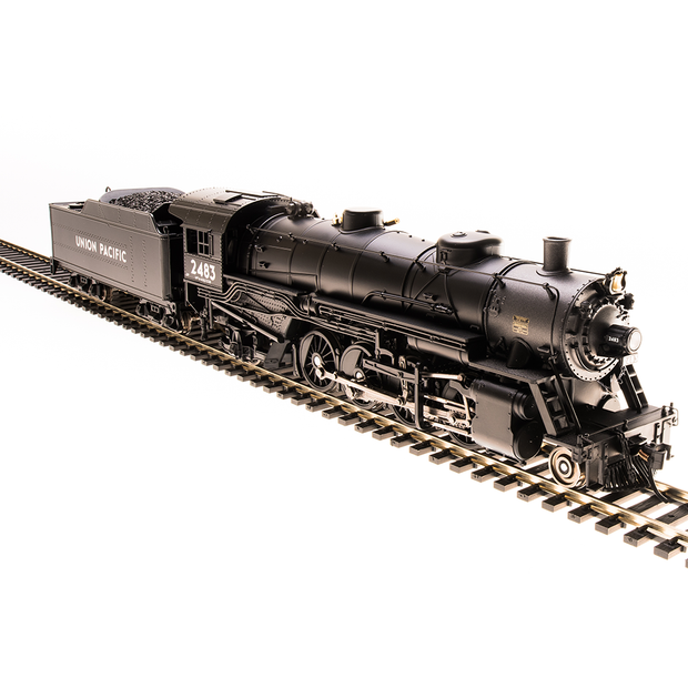Broadway Limited Imports HO 5571 2-8-2 USRA Light Mikado, UP #2483. Paragon3 Sound/DC/DCC, HO (No Smoke)